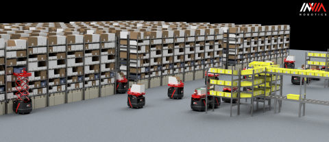 The inVia Dynamic Automated Storage and Retrieval System (Photo: Business Wire)
