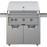"""Aspire by Hestan, 36"""" Grill on Tower Cart with Double Doors (Photo: Business Wire)"""
