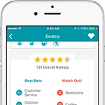 GasBuddy Ratings Feature (Photo: Business Wire).