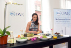 Celebrity chef and wellness journalist Candice Kumai celebrates the launch of Febreze ONE at a cooking demonstration inspired by and incorporating the product's single-note scents, Bamboo, Orchid and Mandarin, Tuesday, Feb. 28, 2017, in New York. Febreze ONE's two-in-one formula gently cleans away odors from both the air and fabric with no heavy perfumes, no aerosols and no dyes. (Photo by Diane Bondareff/Invision for Febreze/AP Images)