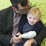 Ben Ryan, founder of Ambionics, and his son Sol (Photo: Business Wire)