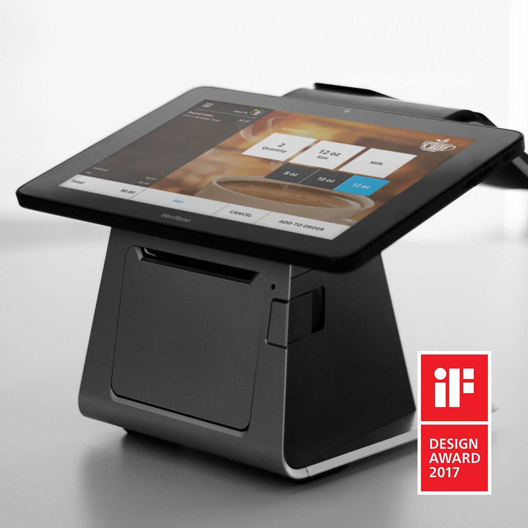 Verifone Carbon Wins 2017 iF DESIGN AWARD (Photo: Business Wire)