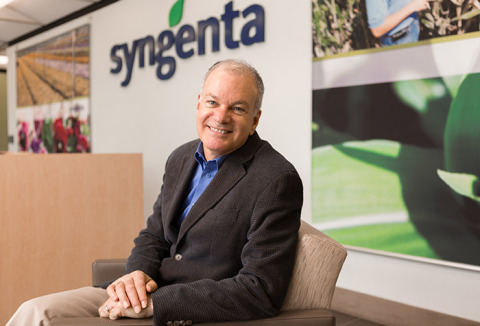 Dan Burdett, new head of global digital agriculture at Syngenta (Photo: Syngenta)