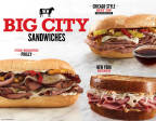 Arby's Big City Sandwiches include Chicago-Style Beef Dip, Fire-Roasted Philly and New York Reuben (Photo: Business Wire)
