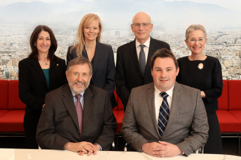 Left to Right Back: Jeryll S. Cohen, Rebekah E. Swan, Stephen M. Lowe, Geraldine A. Wyle; Front: Kenneth S. Wolf, Thomas C. Aikin (Photo: Business Wire)