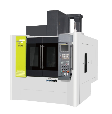 Tongtai AMH-350 Hybrid Additive Manufacturing Machine with integrated Optomec LENS 3D Print Engine.  ...