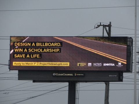 Ad Council and Project Yellow Light are teaming with their media partners to engage millennials in a conversation to prevent texting and driving. (Photo: Business Wire)
