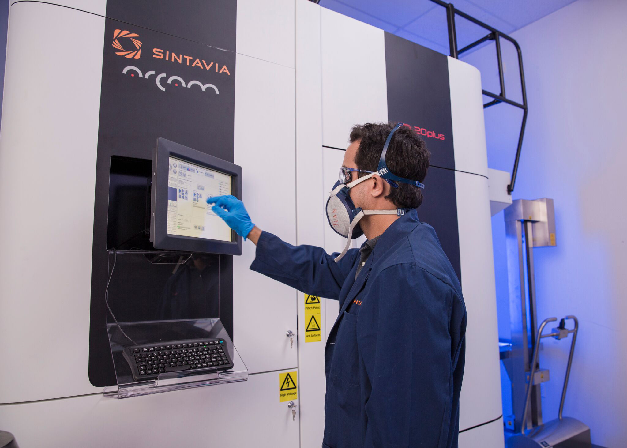 Sintavia's proprietary parameters, processes and quality control procedures make it possible to serially manufacture AM parts and audit quality components for precision industries. (Photo: Business Wire)