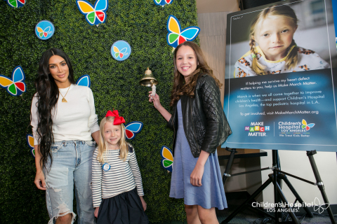 In the photo (L-R), entertainment superstar Kim Kardashian West was on hand to kick off the second a ...