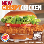 New Crispy Chicken Sandwich Made with Seasoned 100% White Meat Filet Debuts at BURGER KING® Restaurants (Photo: Business Wire)