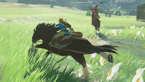 Step into a world of discovery, exploration and adventure in The Legend of Zelda: Breath of the Wild ...