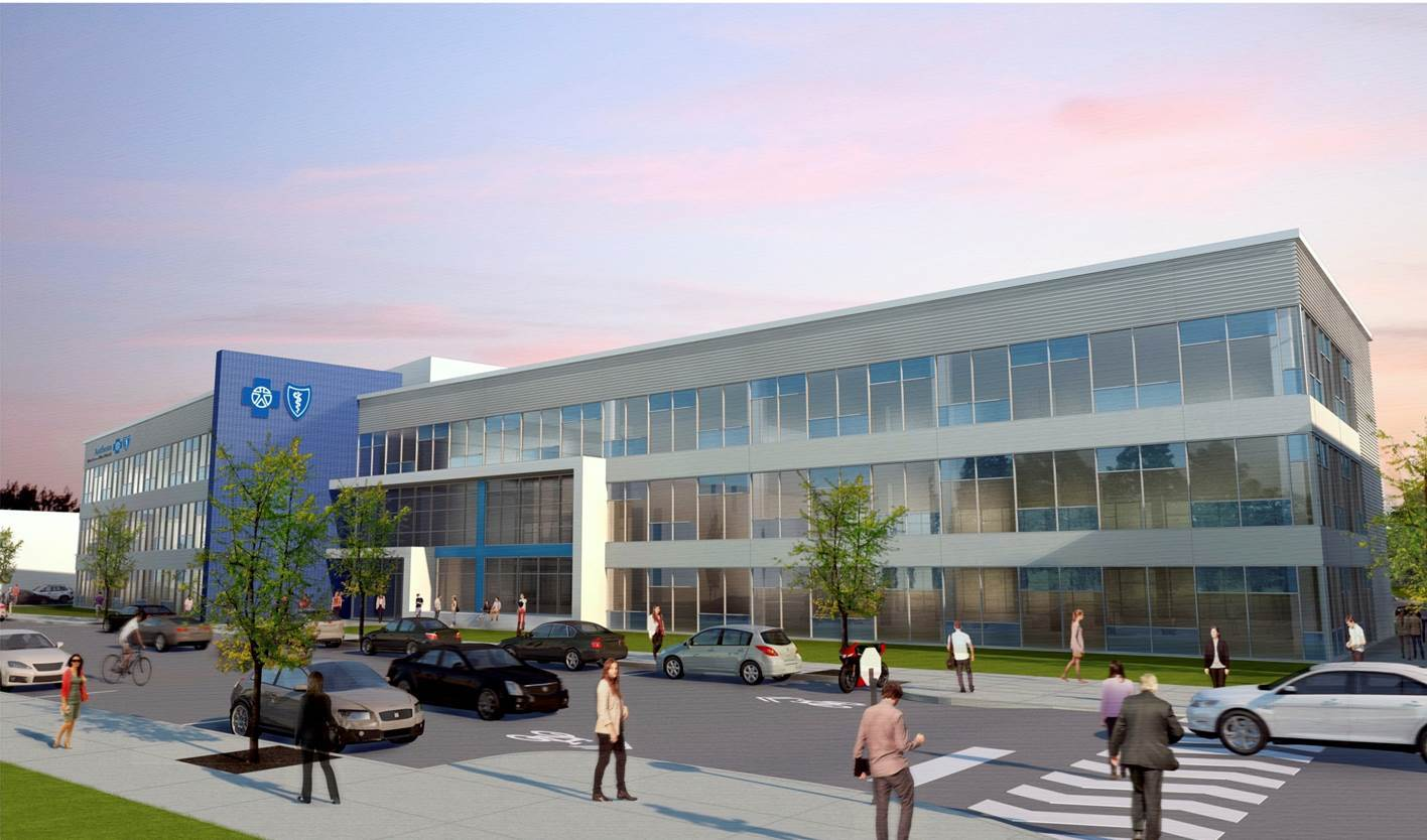 Anthem Blue Cross and Blue Shield opens its new 80,000 square-foot office space in Cincinnati. (Photo: Business Wire)