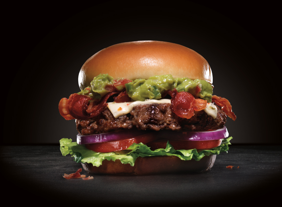 The Carl's Jr. Guacamole Burger is one of many delicious items on the menu in Chile. (Photo: Business Wire)