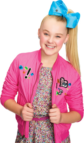 Pictured: JoJo Siwa Nickelodeon. Photo: Terry Doyle/Nickelodeon. © 2016 Viacom International, Inc. A ...