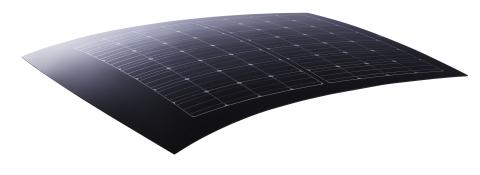 汽車HIT(TM)太陽光電模組(照片:美國商業資訊)