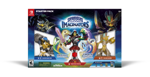 The award-winning Skylanders® Imaginators is now available for Nintendo Switch™! Skylanders Imaginators gives kids an unprecedented level of choice to create the most unique Skylanders characters they can imagine. (Photo: Business Wire)