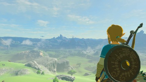 Today also marks the launch of the first epic Nintendo Switch game, The Legend of Zelda: Breath of the Wild, which breaks new boundaries while honoring the origins of the acclaimed series. (Graphic: Business Wire)