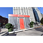 In this photo provided by Nintendo of America, the Nintendo Switch in Unexpected Places is set against the backdrop of New York City at Madison Square Park. The versatility of the Nintendo Switch system allows consumers to play in a variety of settings, from the comfort of their own living room to any location imaginable. The new Nintendo Switch home gaming system is available worldwide now. (Photo: Nintendo of America)