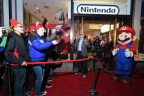 In this photo provided by Nintendo of America, fans line up outside the Nintendo NY store to await the midnight launch of the Nintendo Switch system on March 3. (Photo: Nintendo of America)