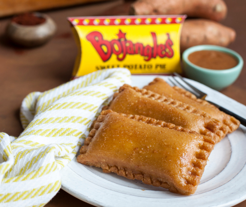 On March 14 only, celebrate National Pi Day by enjoying three Bojangles' Sweet Potato Pies for $3.14. (Photo: Bojangles')
