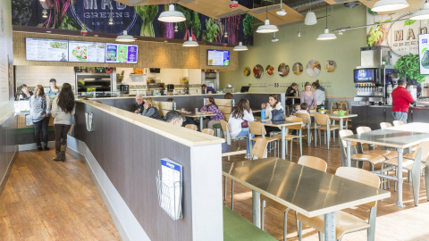 MAD Greens Opens First and Only Drive-Thru Restaurant in Louisville, Colo. (Photo: Business Wire)