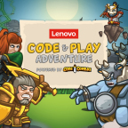 Lenovo GameState helps teach kids to code. (Graphic: Business Wire)