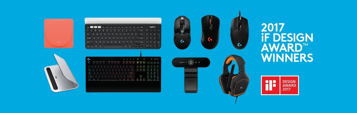 Logitech breaks company record with nine if design awards for Small house design contest winners
