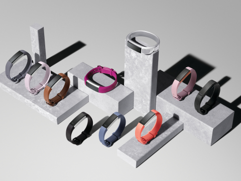 Reach your health and fitness goals in style with the new Fitbit Alta HR – the world's slimmest fitn ...