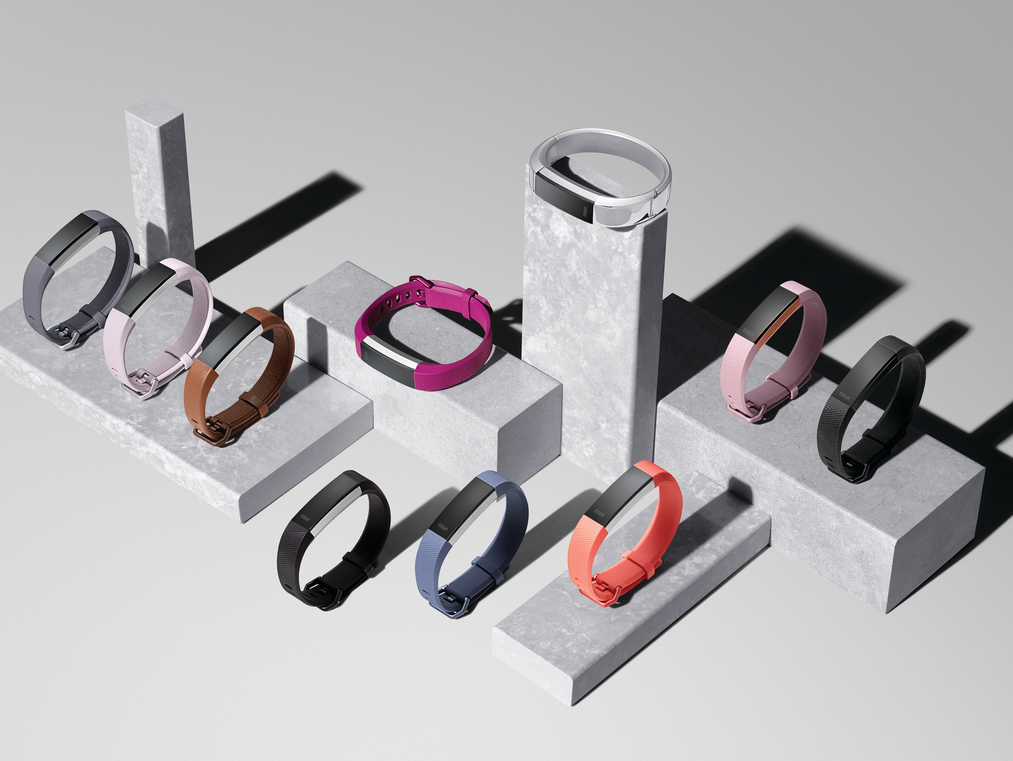 Reach your health and fitness goals in style with the new Fitbit Alta HR – the world's slimmest fitness wristband with continuous heart rate. (Photo: Business Wire)