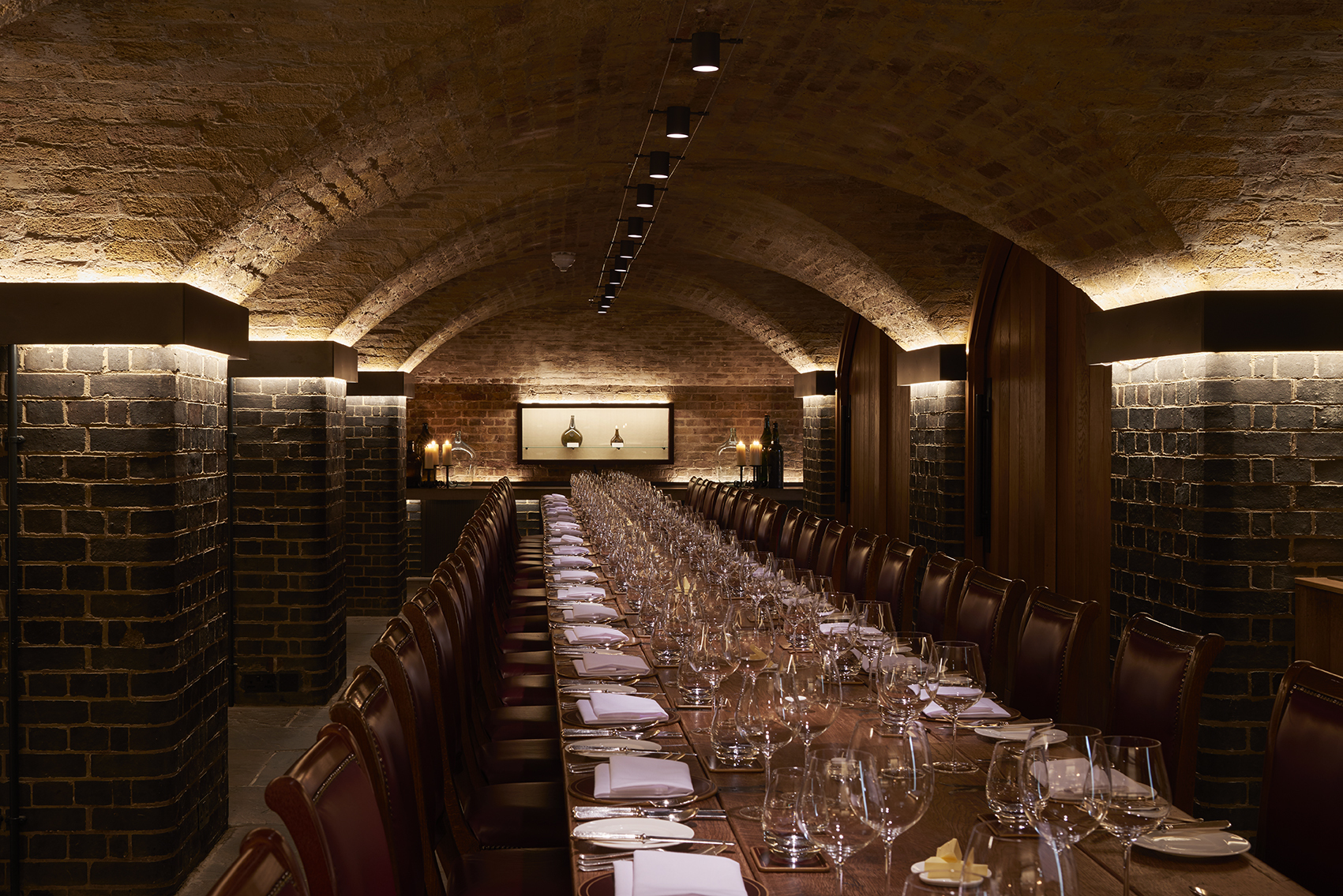 Soraa VIVID LED lamps have been installed at Berry Bros. & Rudd in London, U.K. Photo credit: James Newton.