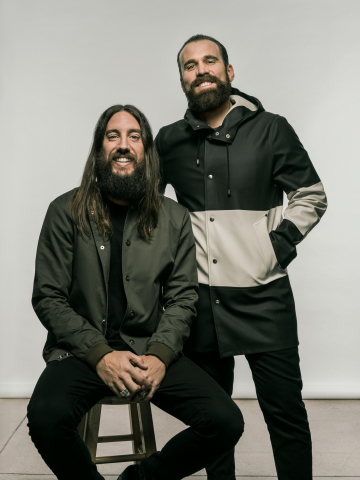 Shiseido Americas announces the acquisition of JWALK, a full-service creative agency. Pictured are Michael Lastoria (L) and Doug Jacob (R), co-founders, JWALK. Mr. Jacob will become Chief Creative Director, Shiseido Americas. (Photo: Business Wire)