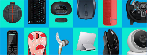 Logitech International announces its Fiscal Year 2018 outlook and a new share buyback program as part of a three-year capital allocation framework. (Photo: Business Wire)