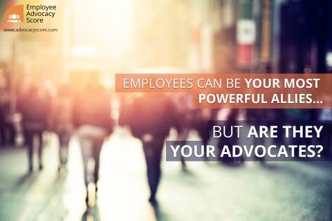 L'Employee Advocacy : Découvre le classement du CAC40, du Fortune 100 et du FTSE en matière d'Employee Advocacy. (Photo: Employee Advocacy Score)