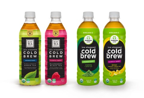 ITO EN Debuts Ice-Steeped Cold Brew Teas for matcha LOVE and TEAS' TEA Organic at Natural Products Expo West 2017 (Photo: Business Wire)