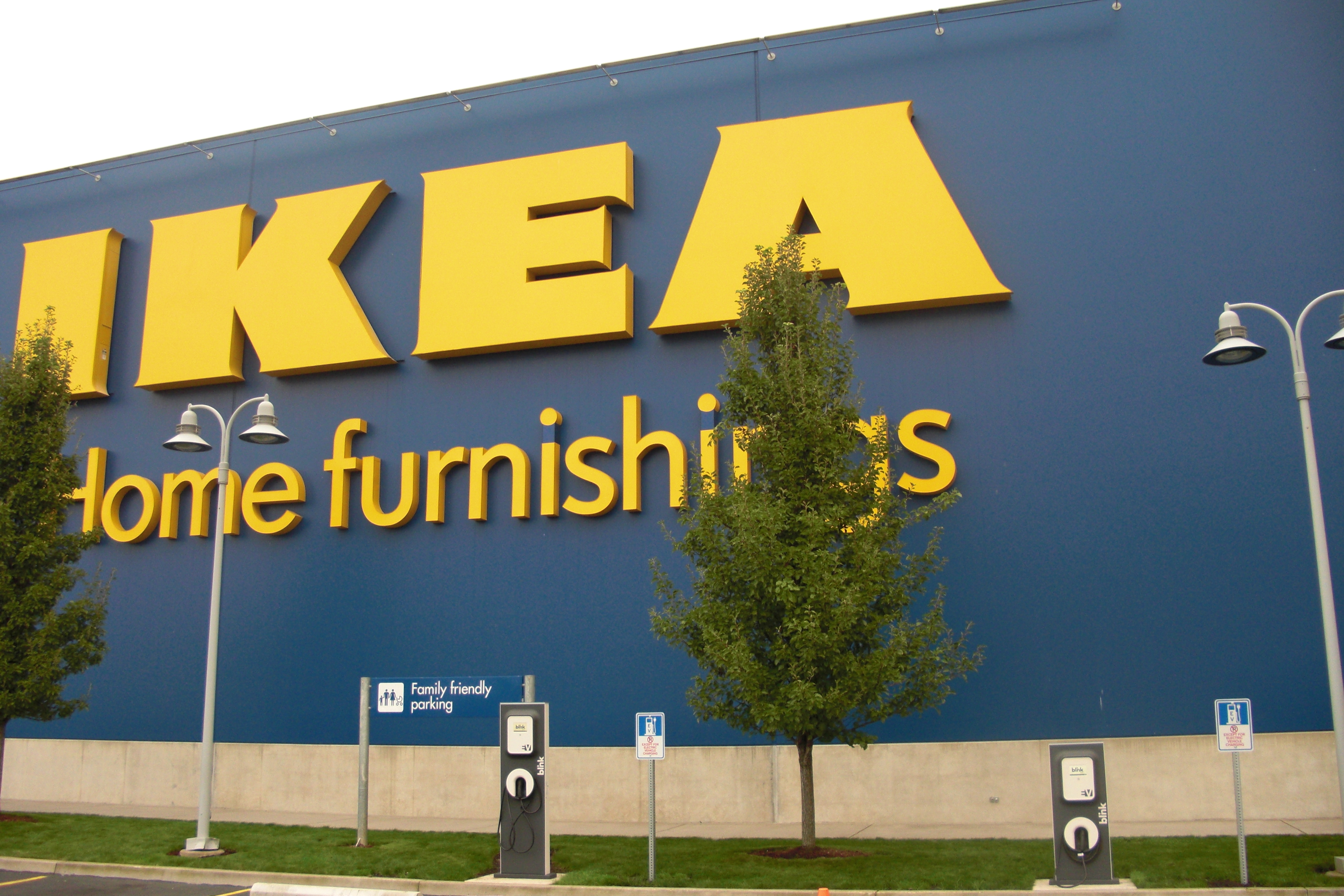 IKEA to install 3 electric vehicle charging stations at future Columbus store, opening Summer 2017. (Photo: Business Wire)