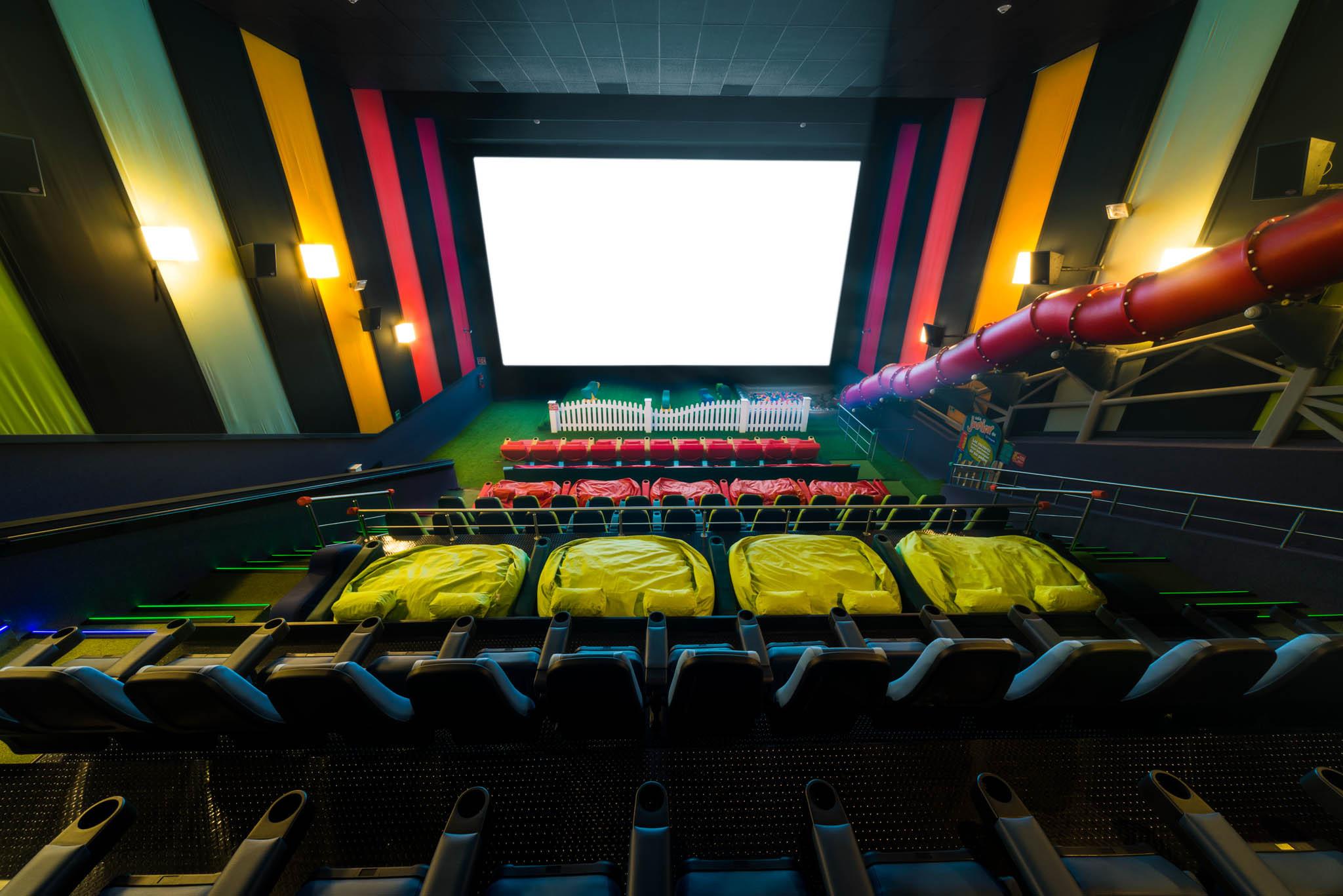 Small Kids Movie Room