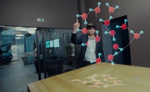 The Accenture Liquid Studio in Riga, Latvia (Photo: Business Wire)