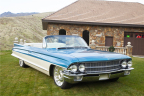 "This 1962 Cadillac Custom Convertible known as ""Cadalina"" will cross the 2017 Barrett-Jackson Palm Beach Auction Block (Photo: Business Wire)"