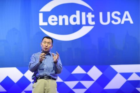 China Rapid Finance CEO Zane Wang tells LendIt USA that China consumer finance challenge needs high-tech solution in keynote address in New York on March 7, 2017. (Photo: Business Wire)