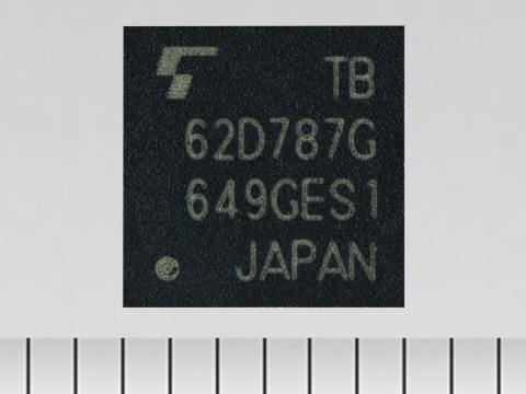 "Toshiba: a new LED driver IC ""TB62D787FTG"" with a single-wire input and 24-channel output, for amuse ..."