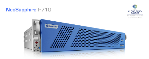 AccelStor will showcase their flagship NeoSapphire P710 all-flash array at Cloud Expo Europe 2017. (Graphic: Business Wire)