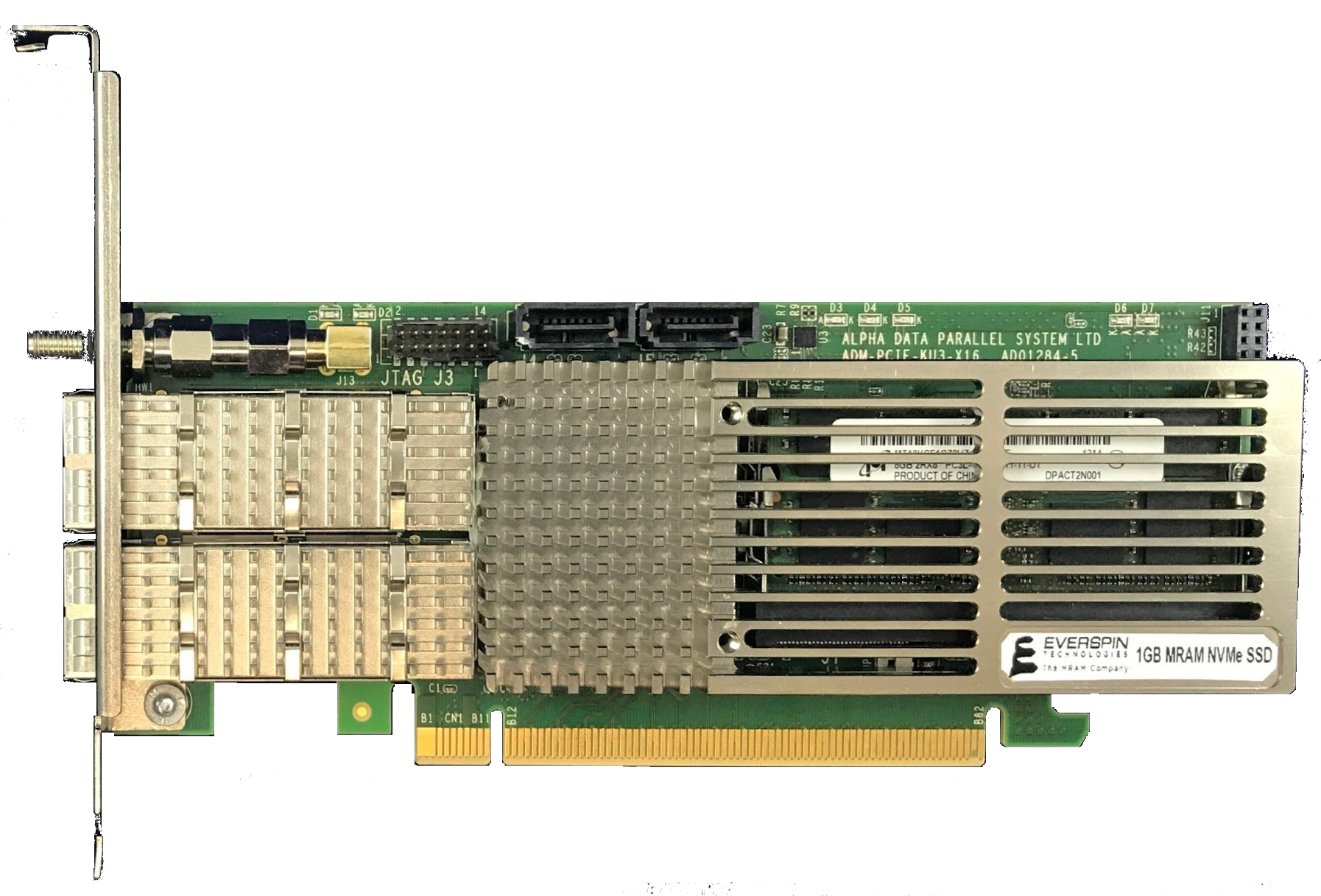 Everspin's new nvNITRO line of storage accelerators deliver extremely fast read/write times with ultra-low latency. (Photo: Business Wire)