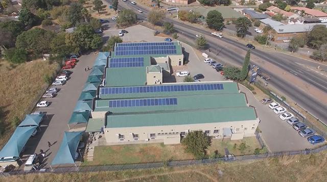 Solar Installation at Medicross Germiston Family Medical and Dental Centre