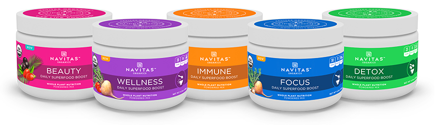 Navitas Organics™ Daily Boosts (SRP $19.99 each) (Photo: Business Wire)