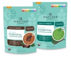Navitas Organics™ Essential Blends in Cacao & Greens and Vanilla & Greens (SRP $29.99 each) (Photo: Business Wire)