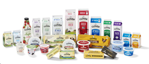 The Clover Sonoma brand refresh includes a full package redesign across all product lines. (Photo: Business Wire