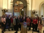 Colorado government and business leaders gather at State Capitol for launch of resolution promoting women on corporate boards (Photo: Business Wire)