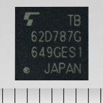 """Toshiba: a new LED driver IC """"TB62D787FTG"""" with a single-wire input and 24-channel output, for amusement equipment and LED illumination applications. (Photo: Business Wire)"""