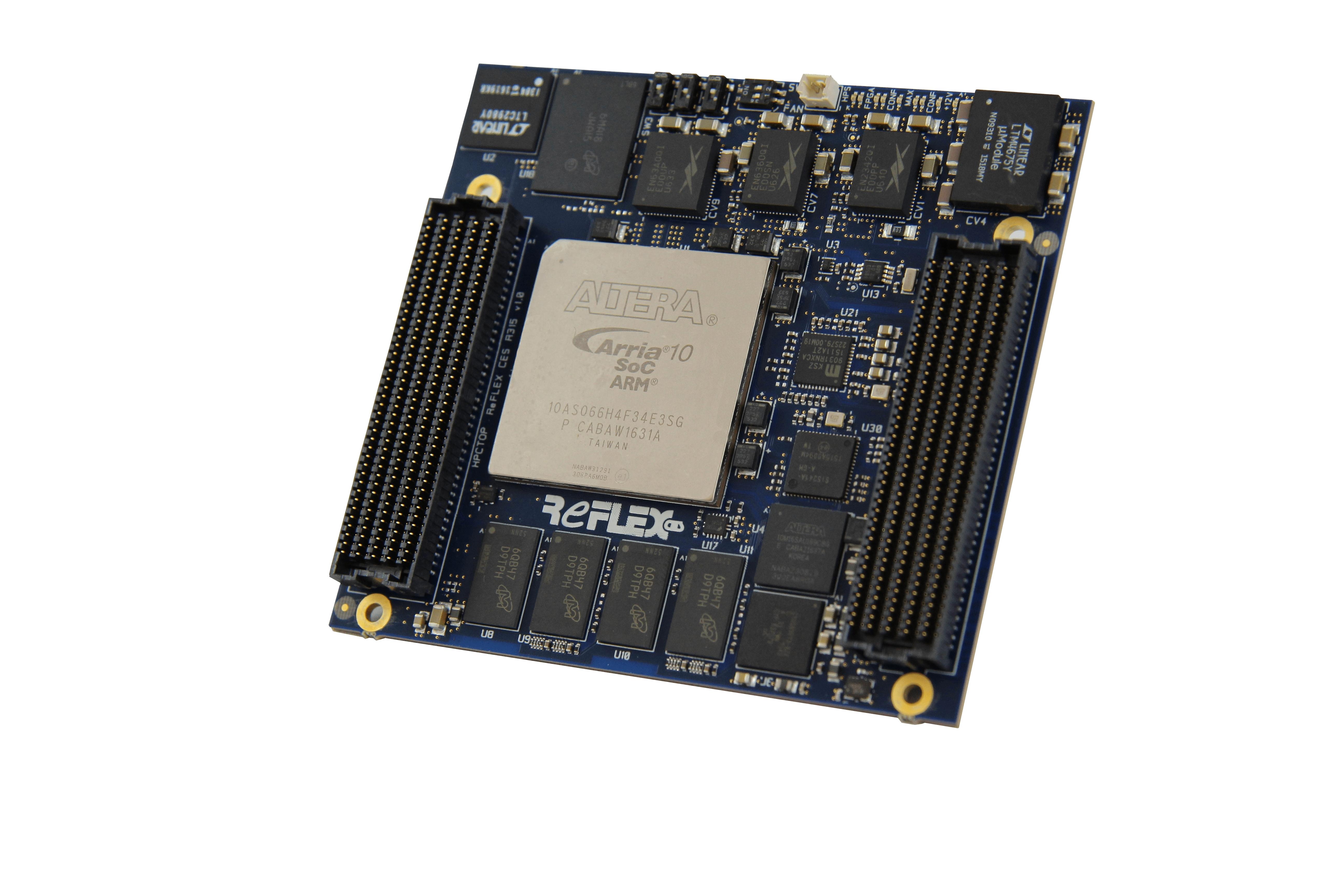 Achilles Arria 10 SoC module