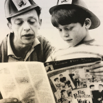 Pictured: Don Knotts and Ron Howard (The Hartford's Junior Fire Marshal Program) (Photo: Business Wire)